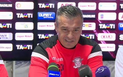 Liga 2: Rapid l-a demis pe antrenorul Daniel Pancu
