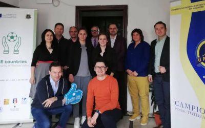 Un nou proiect Erasmus Plus Sport: Țările sud-este europene pentru integritatea cluburilor de fotbal