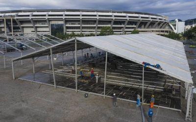 Stadionul Maracana, transformat în spital pe timp de pandemie de coronavirus