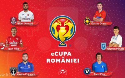 Echipele din Liga 1 și-au desemnat fotbaliștii care vor participa la Cupa României de fotbal virtual
