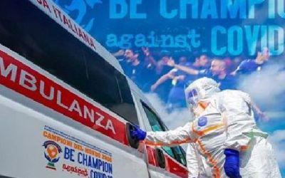 Fotbaiștii din naționala Italiei 2006 au cumpărat 4 ambulanțe moderne pentru Crucea Roșie