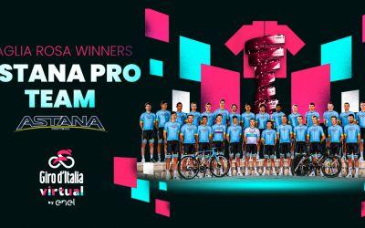 Echipa Astana a câștigat Turul virtual al Italiei