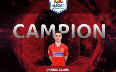 Darius Olaru, campion în turneul fotbaliştilor la FIFA 20