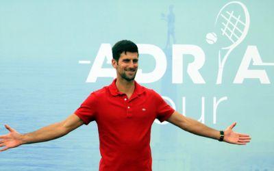 Djokovic, Zverev, Thiem și Dimitrov vor participa la Adria Cup, un turneu de tenis itinerant prin Balcani