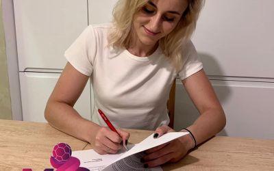 Iulia Dumanska a părăsit SCM Râmnicu Vâlcea și a semnat cu Podravka Vegeta