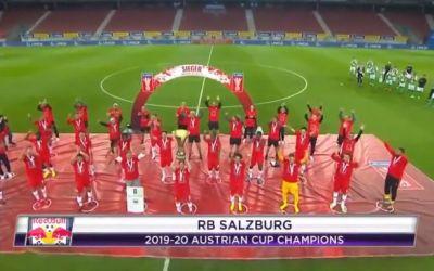 RB Salzburg a câștigat Cupa Austriei