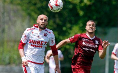 Dinamo a învins Rapid într-un meci amical