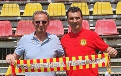 Ripensia are un nou antrenor: Cosmin Petruescu