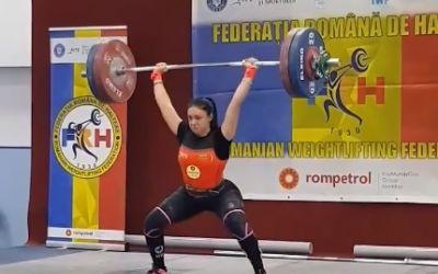 Încă un caz de dopaj în sportul românesc: halterofila Luana Grigoriu