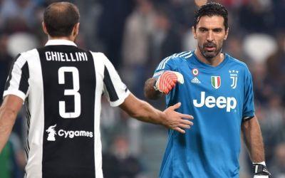 VIDEO / Buffon și Chiellini și-au prelungit contractele cu Juventus