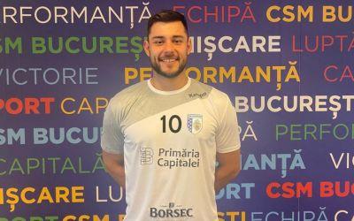 Handbalistul Iulian Ernest Jerebie a semnat cu CSM București