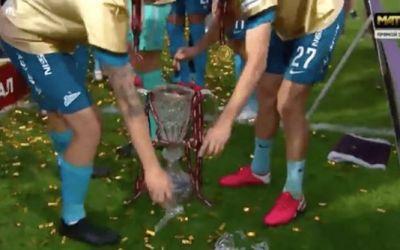VIDEO / Branislav Ivanovic a spart trofeul Cupei Rusiei, cucerit de Zenit