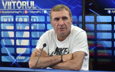 Gheorghe Hagi a demisionat din funcția de antrenor al Viitorului
