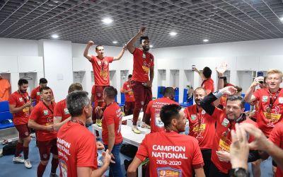 CFR Cluj, din nou campioana României, după ce a învins-o pe Craiova