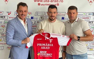 UTA face primele achiziții pentru Liga 1: Ioan Hora și Neluț Roșu