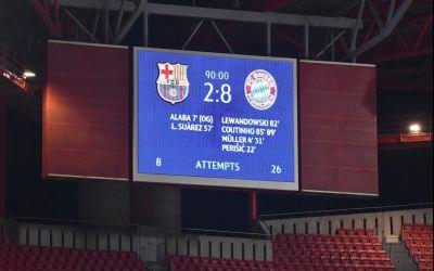 FC Barcelona, călcată în picioare de Bayern, scor 8-2. Reacția presei internaționale