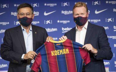 Ronald Koeman, noul antrenor al lui FC Barcelona