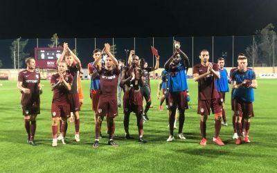 CFR Cluj s-a calificat în turul secund al Ligii Campionilor, după 2-0 cu maltezii de la Floriana