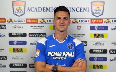 Florin Gardoș a semnat cu Academica Clinceni