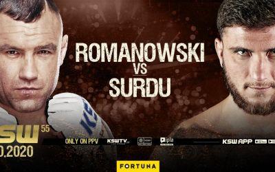 Luptătorul de MMA Ion Surdu debutează în KSW