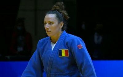 Andreea Chițu, medaliată cu argint la Europeanul de judo