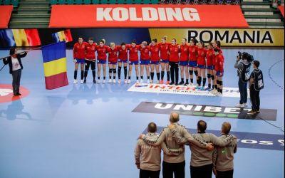 Naționala de handbal feminin a României a terminat cu un eșec parcursul dezamăgitor de la Euro