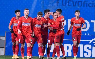 FCSB redevine lider în Liga 1, după 2-0 cu Craiova. Reacții după meci