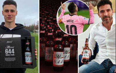 VIDEO / De Crăciun, Messi le-a trimis bere portarilor împotriva cărora a marcat