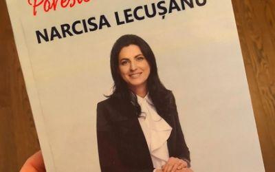 """Fosta handbalistă Narcisa Lecușanu a lansat cartea """"Povestea vieții mele"""""""