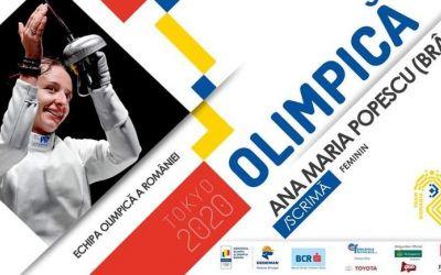 Ana Maria Popescu, calificată pentru a cincea oară la Jocurile Olimpice