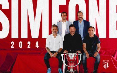 Diego Simeone și-a prelungit contractul cu Atletico Madrid