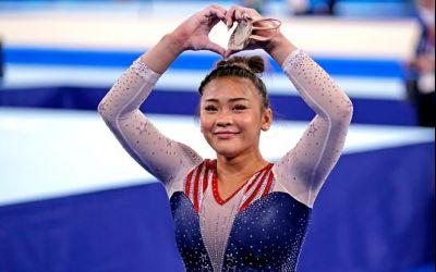 Sunisa Lee, campioană olimpică la gimnastică individual-compus