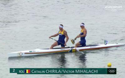 Michalachi și Chirilă, locul 5 la canoe dublu la Tokyo