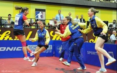 EXCLUSIV / România este campioană europeană de tineret la tenis de masă