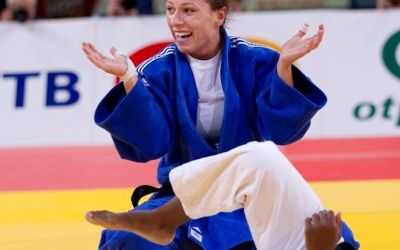 Corina Căprioriu a obtinut argintul olimpic la judo, cat. 57 kg