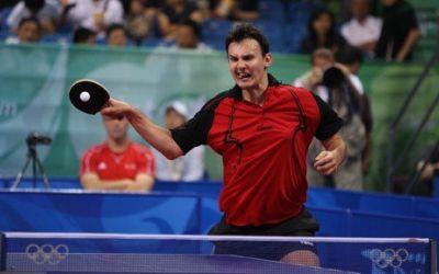 FANTASTIC ! Adrian Crisan produce socul turneului olimpic de tenis de masa, invingand un fost numar 1 mondial