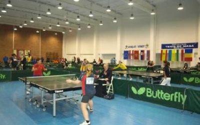 Ultimul concurs de tenis de masă al anului are loc la Bistrița