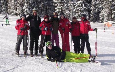 Lotul sportivilor cu dizabilități intelectuale se pregătește la Azuga pentru Jocurile Mondiale de Iarnă Special Olympics