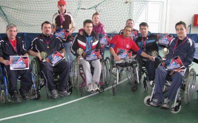 Nicușor Cojocaru și Gigi Pungă au câștigat turneul de tenis de masă pentru paralimpici de la Sfântu Gheorghe