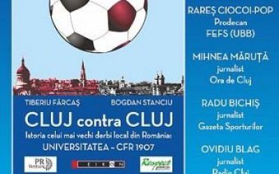 Se lansează o carte despre derbyul Clujului