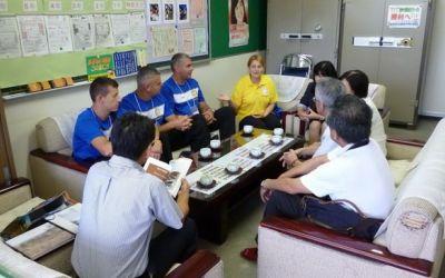 FOTOGALERIE / Oina a fost promovată în Japonia, iar sportul național al României ar putea fi prezent la JO de la Tokyo