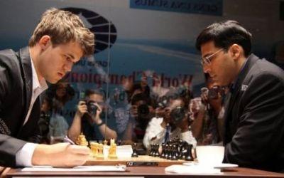 Remiză în partida 7 din meciul pentru titlul mondial Carlsen-Anand