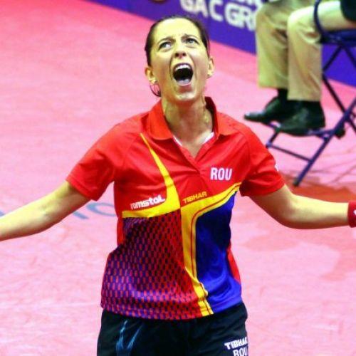 Naționala feminină de tenis de masă a câștigat primul meci de la Campionatele Europene, cu Serbia