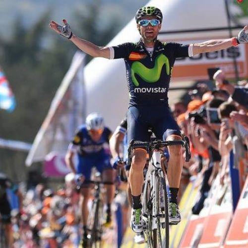 A cincea victorie în Fleche-Wallonne pentru Alejandro Valverde
