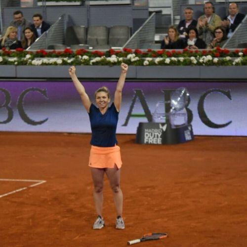 Simona Halep a câștigat turneul de la Madrid