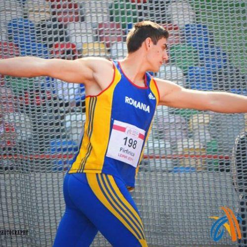 O nouă medalie pentru România! Argint la CE U-23 de atletism, la aruncarea discului