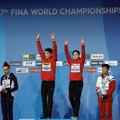 Mondialele de Natație: Puștii Chinei, campioni mondiali la sărituri în apă