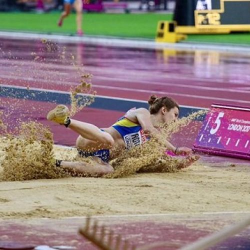 Alina Rotaru, locul 12 în finala de săritură în lungime de la Mondiale. Brittney Reese a luat aurul