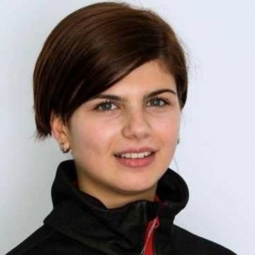 Săritoarea cu schiurile Dana Haralambie a luat puncte la Grand Prix-ul de la Courchevel