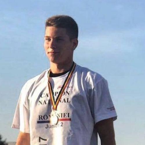 Interviu cu discobolul Constantin Zanfir, campion național, despre lupta cu sine, antrenamente și obiective